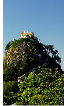 mount popa s 5 Temples & Monasteries <br>on Perilous Cliff Sides