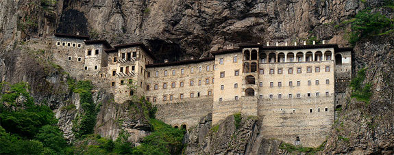sumela turkey 3 5 Temples & Monasteries <br>on Perilous Cliff Sides