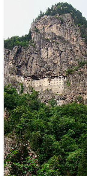 sumela turkey s 5 Temples & Monasteries <br>on Perilous Cliff Sides