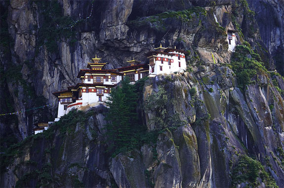 taktsang bhutan 1 5 Temples & Monasteries <br>on Perilous Cliff Sides