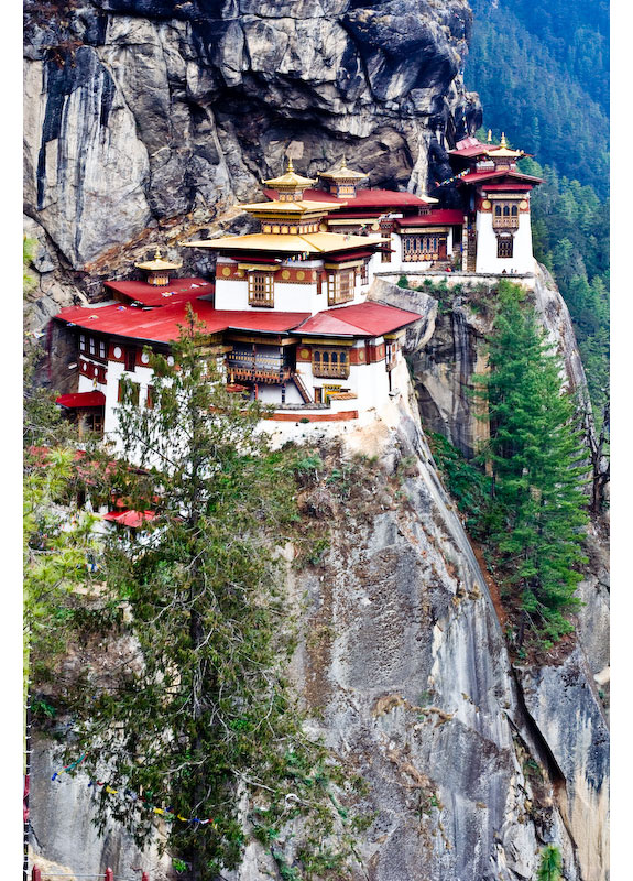 taktsang bhutan 2 5 Temples & Monasteries <br>on Perilous Cliff Sides