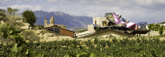 travel marques de riscal 2  Spains Frank Gehry Hotel