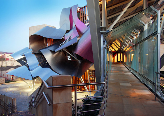 travel marques de riscal 5  Spains Frank Gehry Hotel