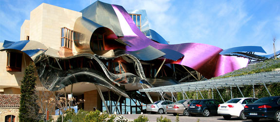 travel marques de riscal 6  Spains Frank Gehry Hotel