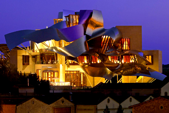 Spain's Frank Gehry Hotel