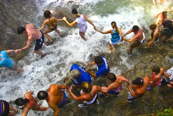 The World's Most Beautiful, Crowded Waterfall