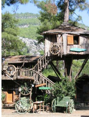 kadir treehouse hotel s Stay in an Eclectic, Cheap Mediterranean Treehouse