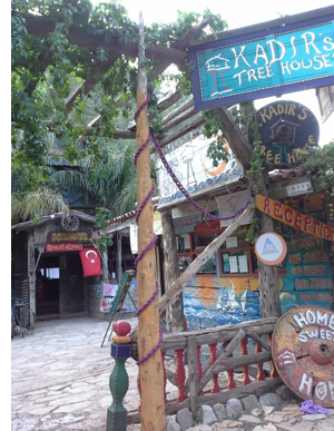 kadir treehouse turkey review r Stay in an Eclectic, Inexpensive Mediterranean Treehouse