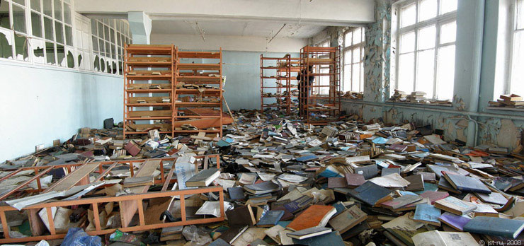 abandon library 8 Amazing Libraries (and One Thats Horrible)