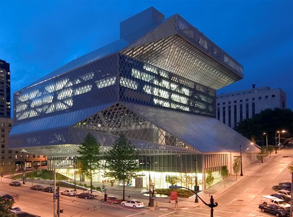 seattle library m 8 Amazing Libraries (and One Thats Horrible)