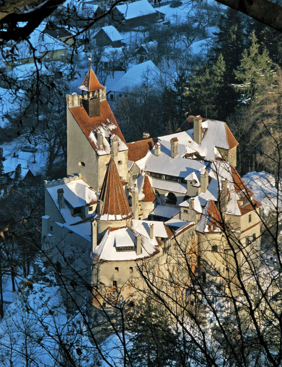 bran castle romania 3 Off The Beaten Path European Ski Destinations