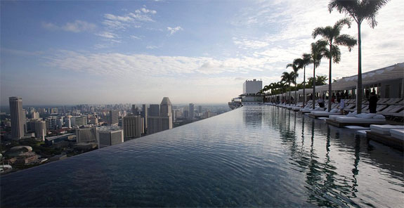 marina bay singapore 1 Sky High Swimming