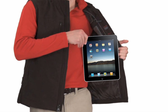 The World's First Line of iPad-Compatible Clothing