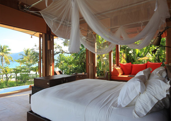soneva kiri six senses 4 Luxury, Romance, Natureand Pod Dinning