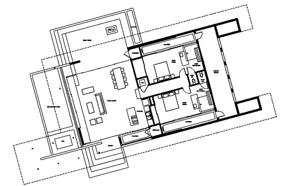 acido dorado floorplan Stay Outdoors, Indoors, at Joshua Tree