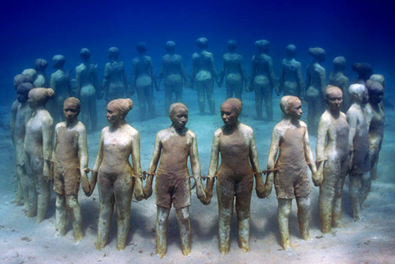 The World's Largest Underwater Sculpture Park