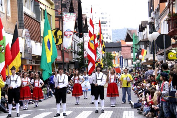 blumenau brazil 4 575x383 The Best Oktoberfest Celebrations <br>(Outside of Europe)