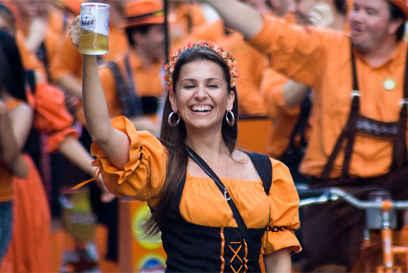 The Best Oktoberfest Celebrations <br />(Outside of Europe)