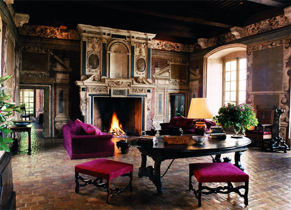 chateaude de bagnols 2 Lodge Luxuriously Like King Louis
