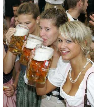 cute beer women s The Best Oktoberfest Celebrations <br>(Outside of Europe)