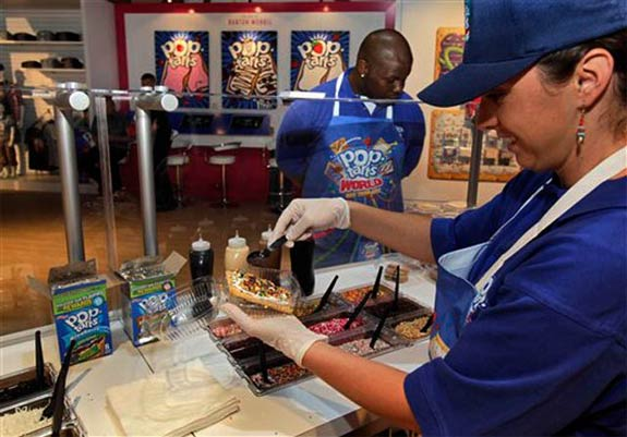 pop tarts world 1 Pop Tarts Store Pops Up in NYC