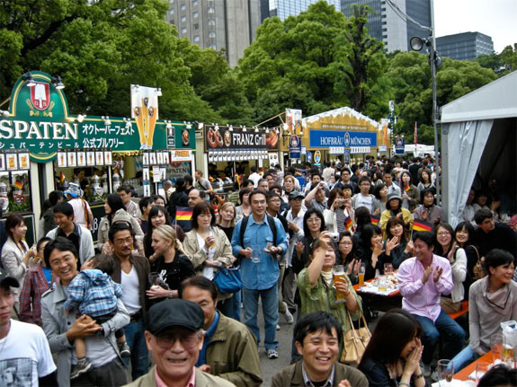 tokyo oktoberfest 2 The Best Oktoberfest Celebrations <br>(Outside of Europe)