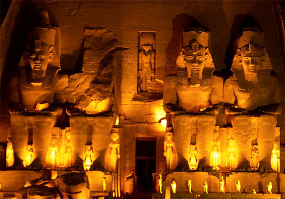 abu simbel egypt The Driest Place on the Planet