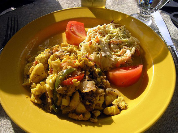 ackee saltfish jamaica 5 Delicious Foods <br>(That Can Kill You)