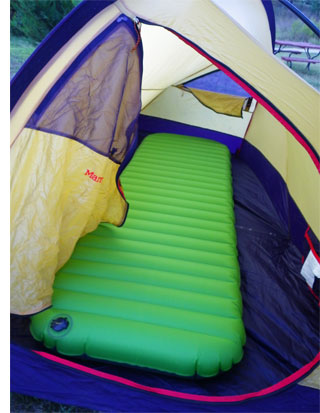 aerobed camping s The Aerobed Pakmat Inflatable Mattress