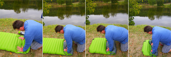 camping aerobed 1 The Aerobed Pakmat Inflatable Mattress