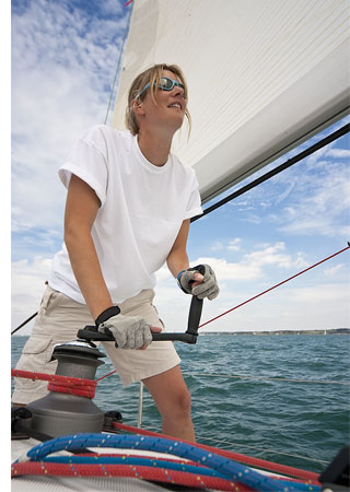 yacht crewing s 4 Cool Ideas For Short Term Work Abroad