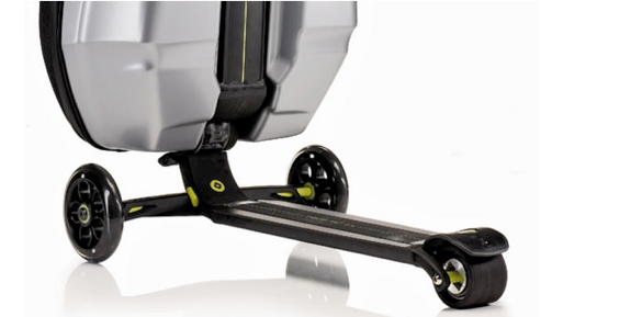 carry on luggage scooter review Luggage That Moves You