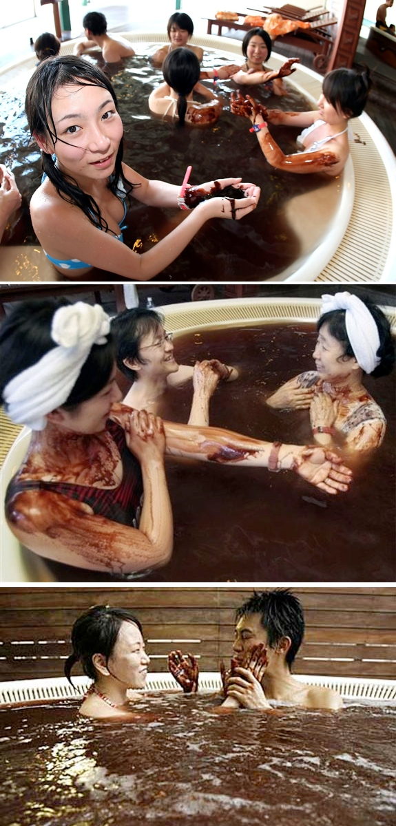 chocolate spa japan Bathe In Chocolate