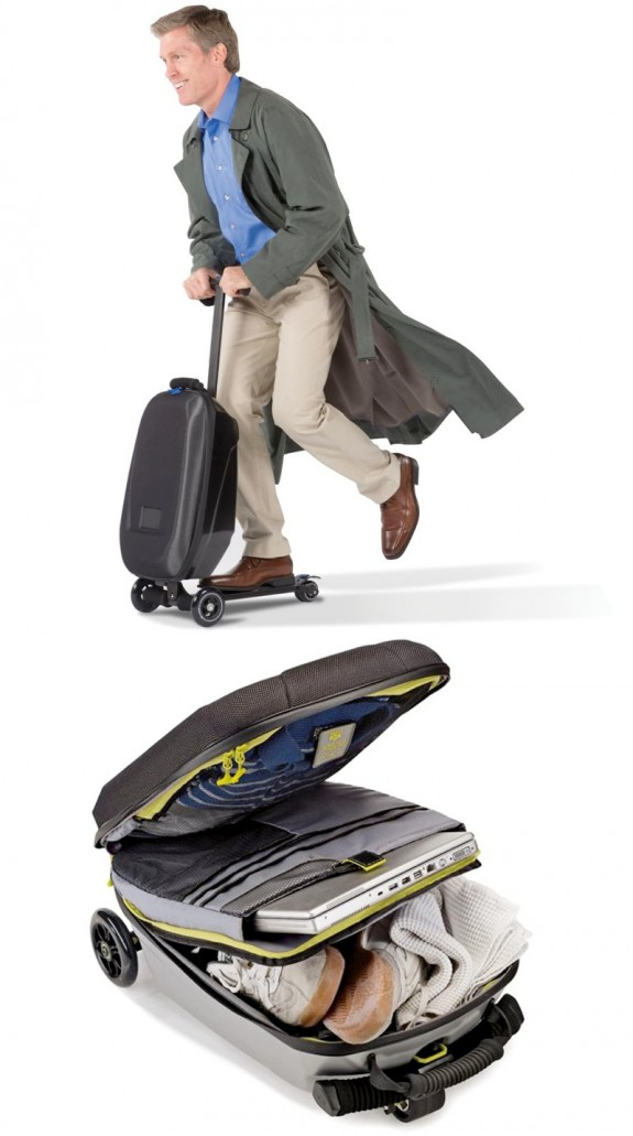 micro scooter luggage fbv 575x1031 Luggage That Moves You