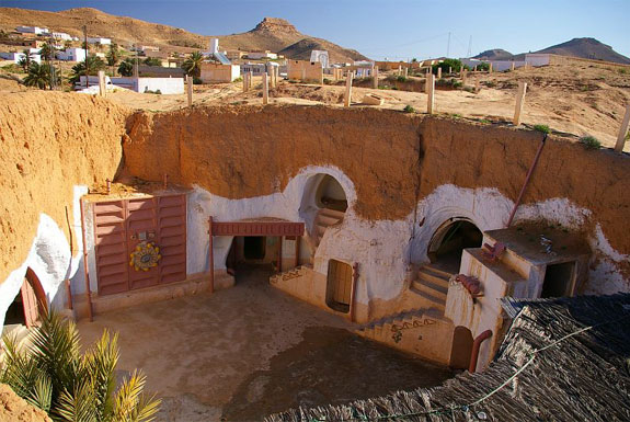 Tunisia Star Wars Hotel