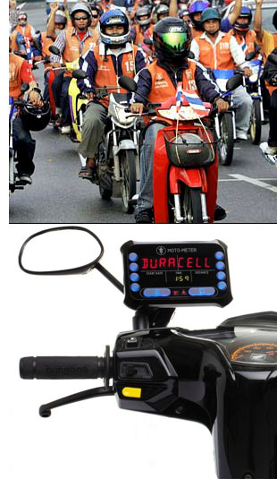 motorcycle taxi meter 1 Meters Come To Thailands Motorcycle Taxis