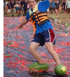 australia watermelon skiing Go Skiing (But Not On Snow)