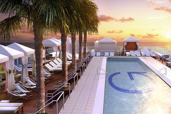 The Best Miami <br />Hotel Swimming Pools