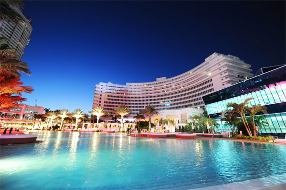 fontainebleau miami pool The Best Miami <br>Hotel Swimming Pools