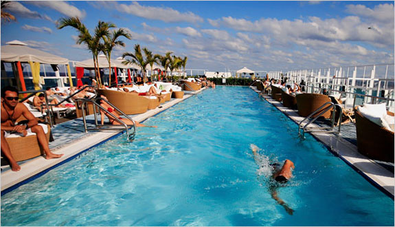 gansevoort miami pool The Best Miami <br>Hotel Swimming Pools