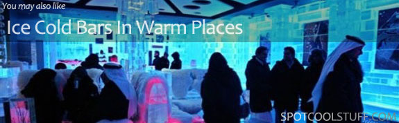 intra icebar Go Skiing (But Not On Snow)