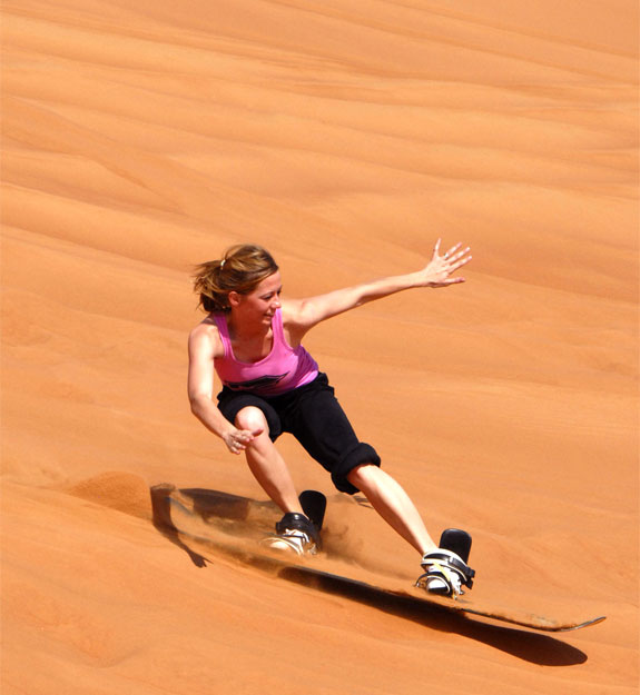 sand skiing dubai 2 Go Skiing (But Not On Snow)