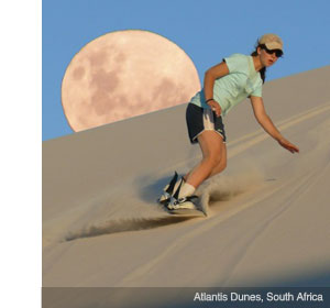 sandboarding africa 1 Go Skiing (But Not On Snow)