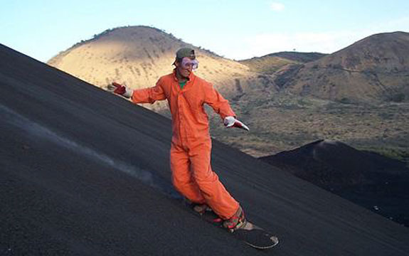 volcano board nicaragua Go Skiing (But Not On Snow)