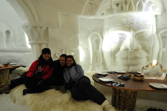 germany ice hotel 3 The Igloo Rooms of Iglu Dorf