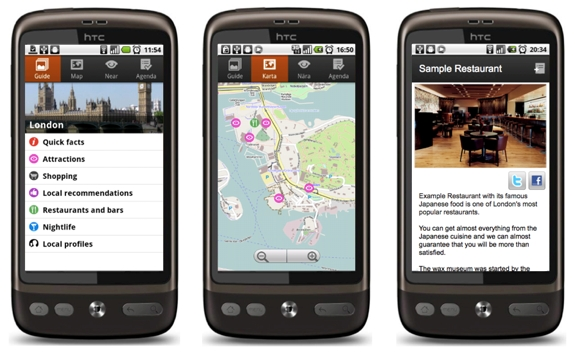 guidepal htc 1 Use Your Smartphone, Guidepal <br>To Find Cool City Experiences