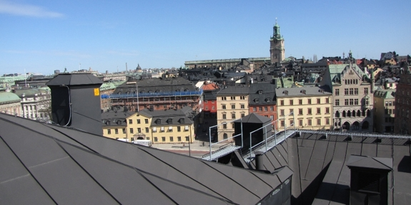 stockholm amazing view 2 Roof It Around Stockholm