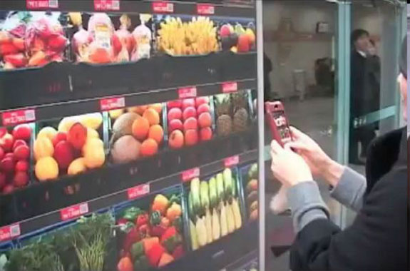 korea virtual grocery 1 Seouls Virtual Subway Supermarket