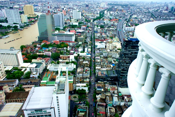 The Best View from a <br />Hotel Room in Bangkok