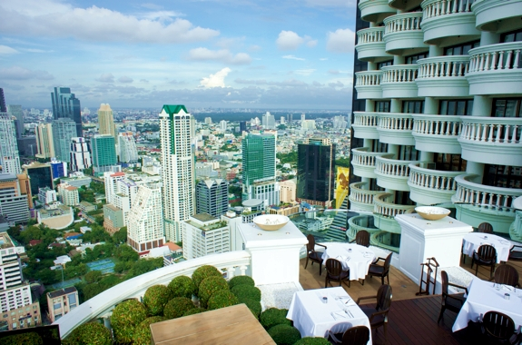 Review of Lebua Tower Club: Bangkoks Best Hotel Room View ...